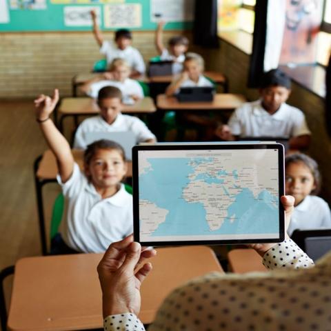 صور: أفضل معلمة في العالم