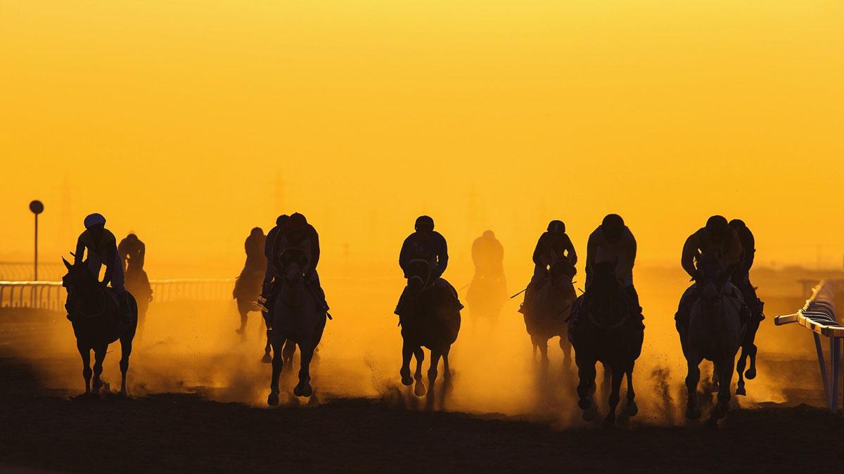 تاريخ سباقات الخيول