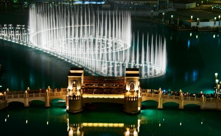 Waters Dance in Dubai