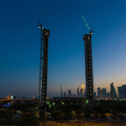 صور: إطار دبي المشهد أكثر قرباً