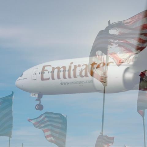 Photo: Emirates Flies High Despite Electronics Ban