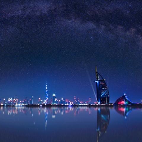 Photo: Astronomical April in Dubai