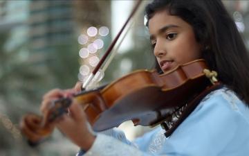 فاطمة الرقباني .. الموسيقى منذ الصغر
