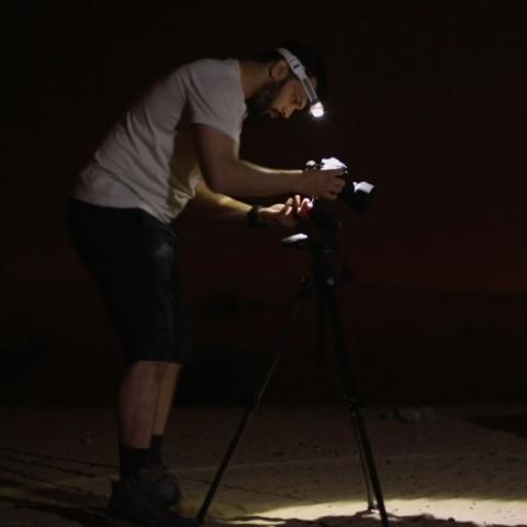 """صور: رحلة إلى """"حميم"""" مع محمد أهلي"""