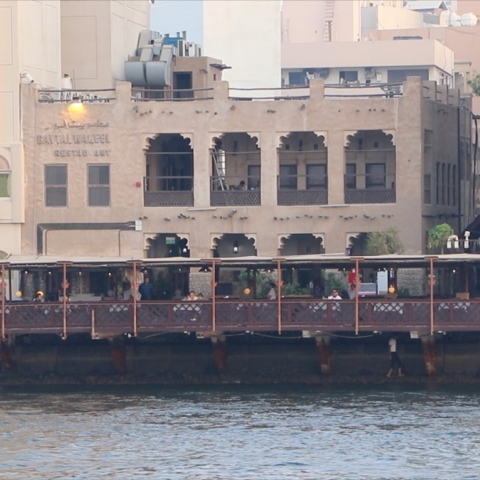 Photo: Bayt Al Wakeel: an Old Dubai Gem
