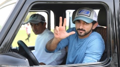Dubai Crown Prince Rides to the Rescue