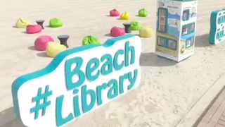 Book Yourself at a Beach Library