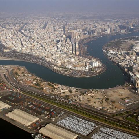 صور: 4 موانئ ساهمت في تطور دبي
