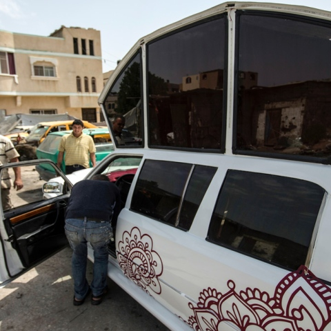 Photo: Limousine Gaza