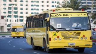 صور: حافلات مدرسية بلا وفيات