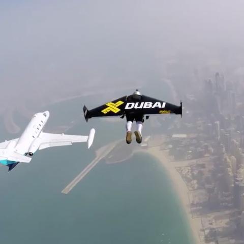 Photo: Dubai's Jetman Fly High