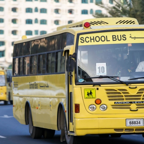 Photo: Zero Accidents on School Buses