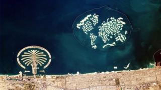 دبي من الفضاء