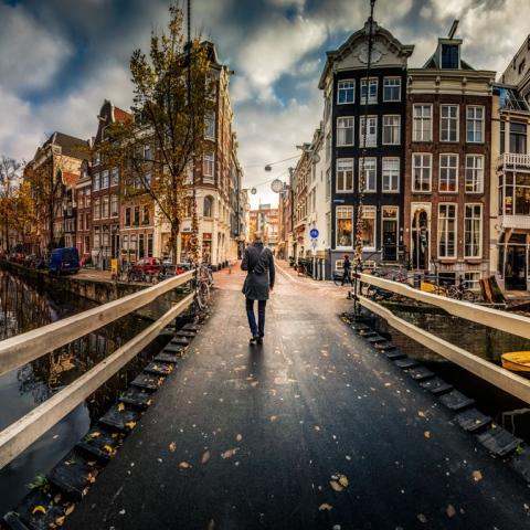صور: أمستردام مدينة الطواحين والمتاحف