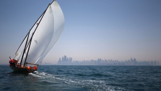 'Al Gaffal' Dhows Set Sail
