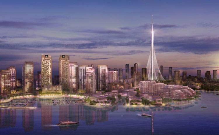 """جولة في برج """"خور دبي"""""""