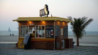 عربات الطعام تتزايد في دبي