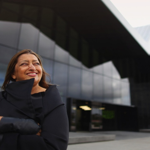 Photo: Google Honours Zaha Hadid