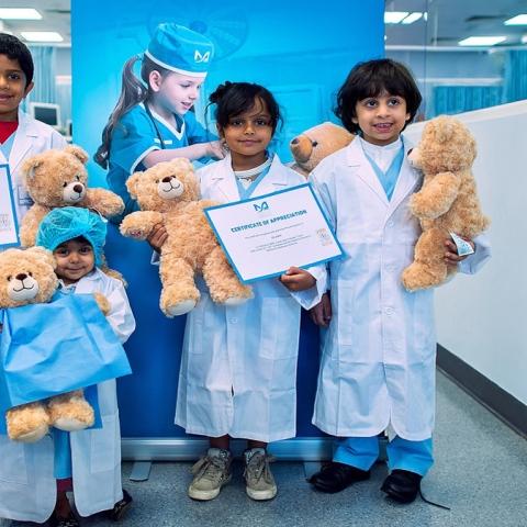 Photo: Teddy Bear Treatment for Dubai