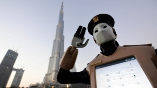 Crime-fighting Robocop