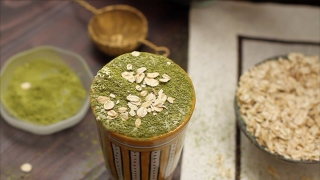 Healthy and Smart... Matcha Smoothie