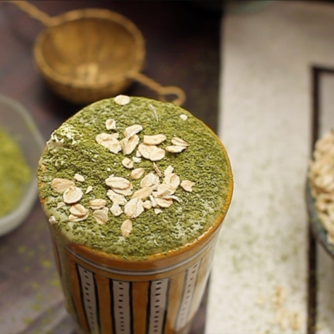 Photo: Healthy and Smart... Matcha Smoothie