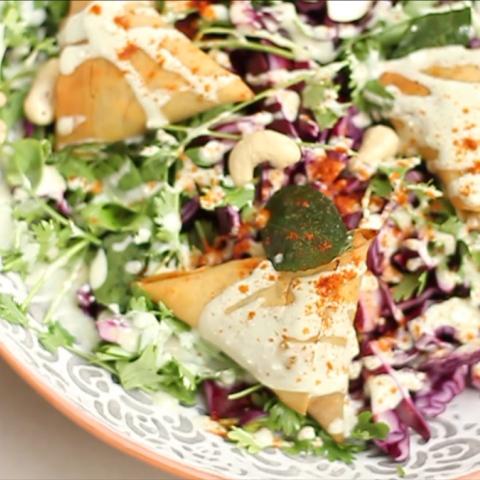 Photo: Healthy and Smart... Samosa Salad