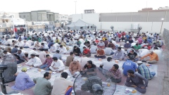 Iftar Tent: Intimacy and Compassion