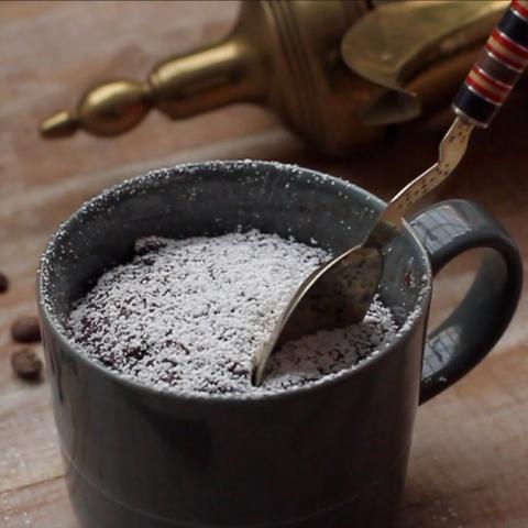 صور: صحي وذكي .. كعكة القهوة