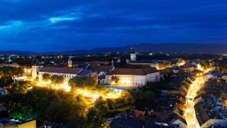 Zoom in on Zagreb