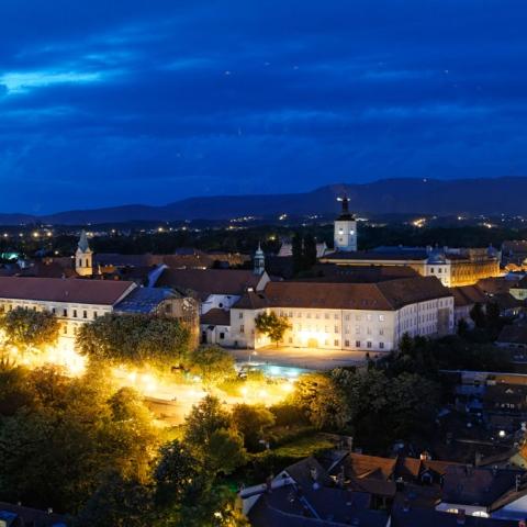 Photo: Zoom in on Zagreb