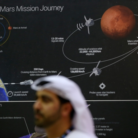 Photo: High on Hope: UAE Heads to Mars