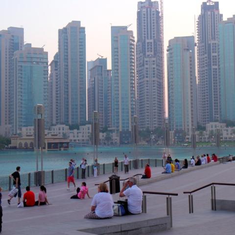 Photo: Dubai: Summer Tourism Destination