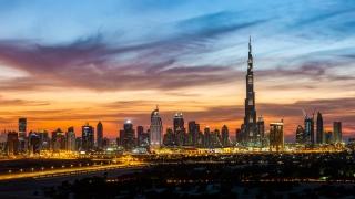 دبي مدينة السحاب