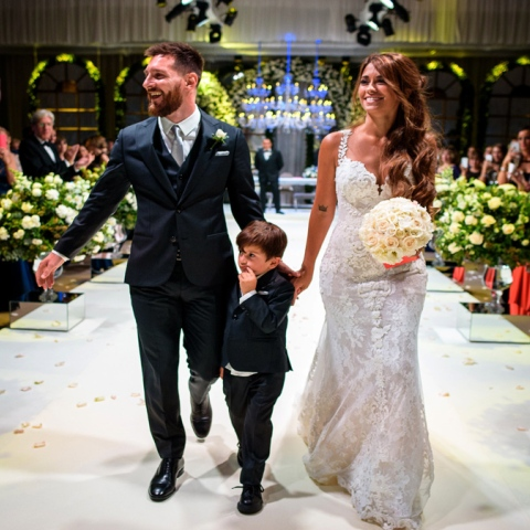 Photo: Messi's Wedding