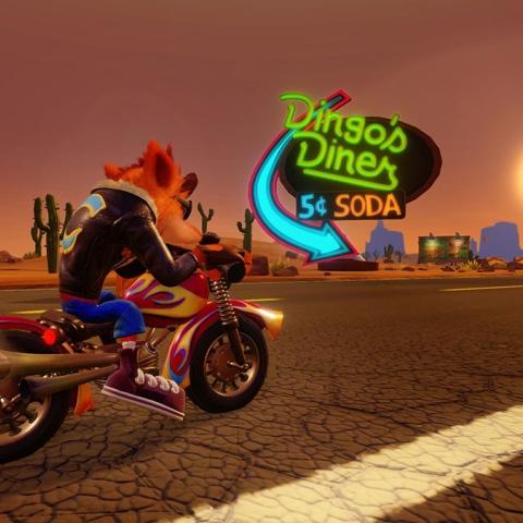 Photo: Crash Bandicoot Returns