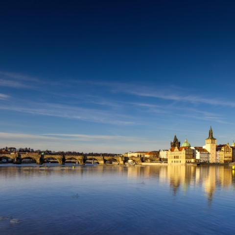 Photo: Prague Survived World War II