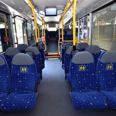 صور: حافلة صديقة للبيئة
