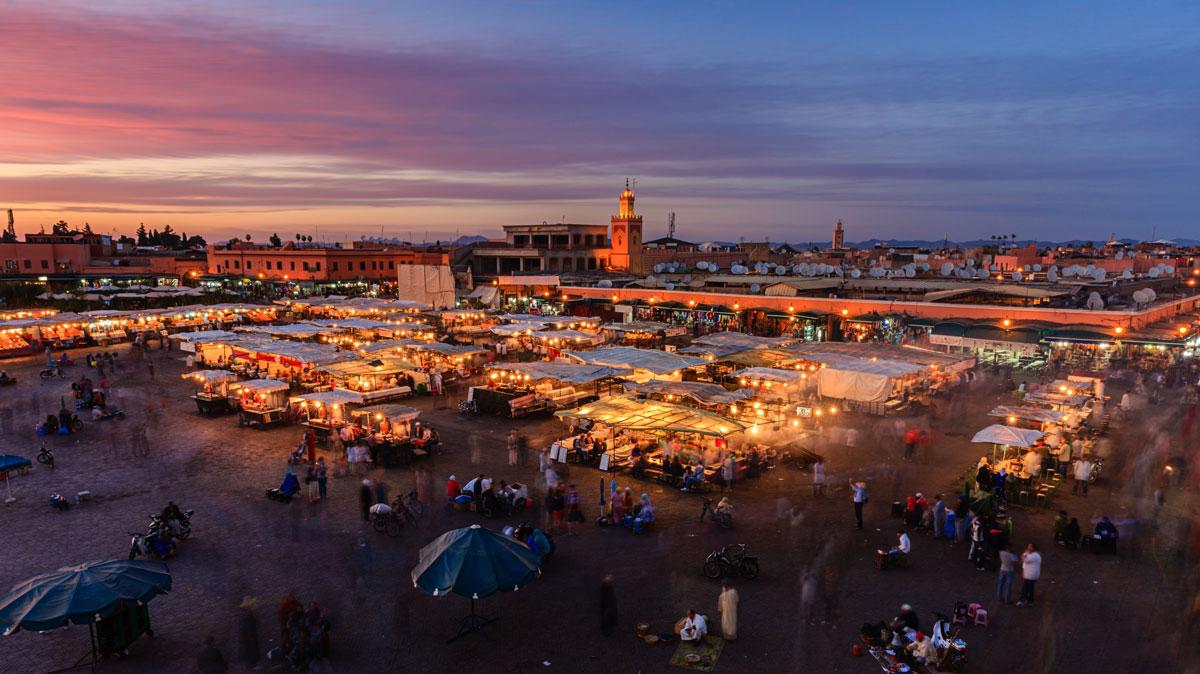 مراكش.. المدينة الحمراء