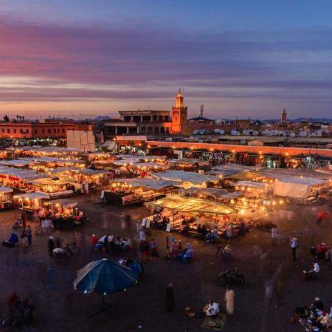 صور: مراكش.. المدينة الحمراء