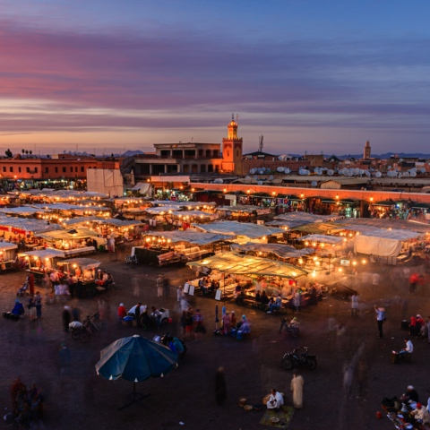 Photo: Marrakech: The Red City