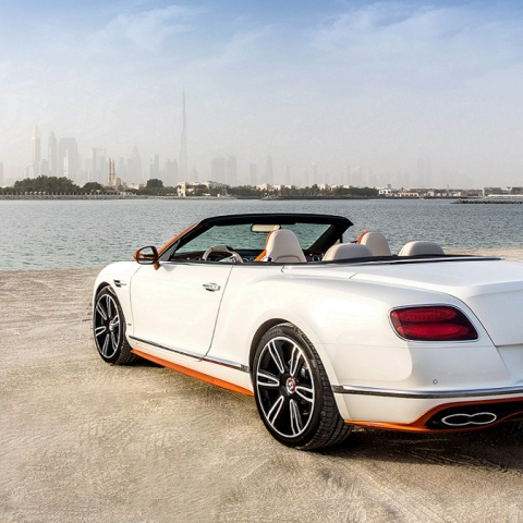 Photo: 'Sheikh Zayed Road'... New Bentley