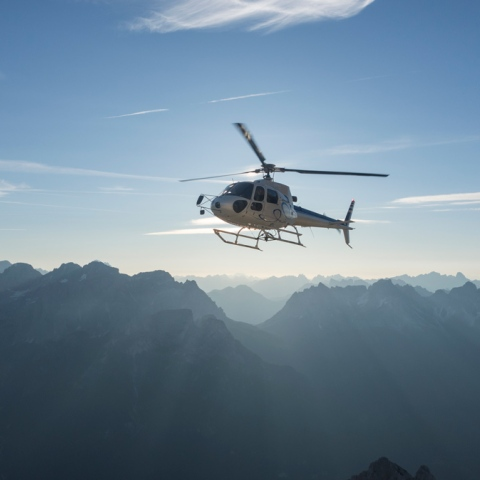 Photo: Helicopter Taxi
