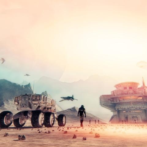 """صور: الإمارات تبني """"المريخ 2117"""""""