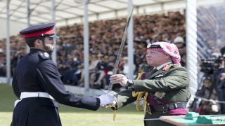 Meet the Emirati who won Sandhurst's Sword of Honor