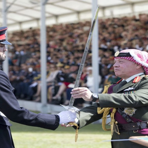 Photo: Meet the Emirati who won Sandhurst's Sword of Honor