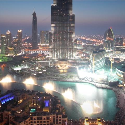 صور: شهرة دبي فوق النجوم