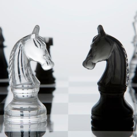 Photo: Chess: A Silent War
