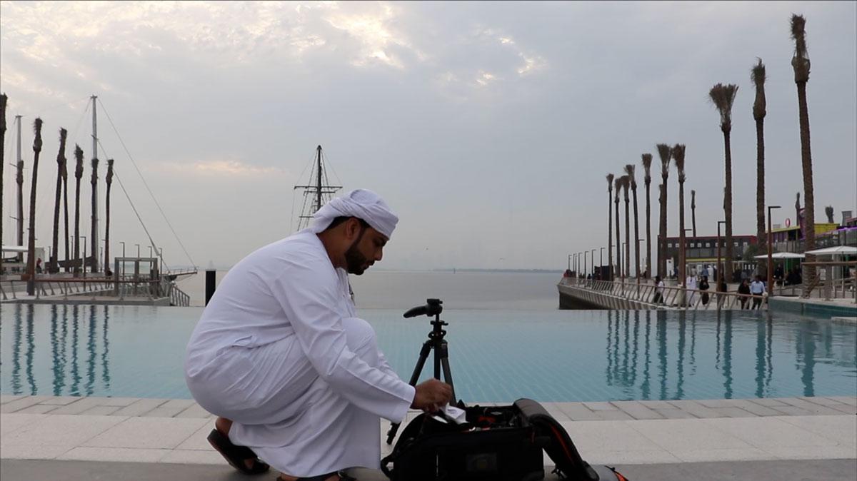 """عبدالله البقيش يلتقط """"ملامح المدينة"""""""
