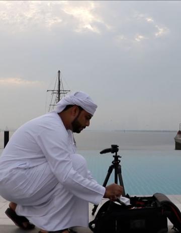 """صور: عبدالله البقيش يلتقط """"ملامح المدينة"""""""